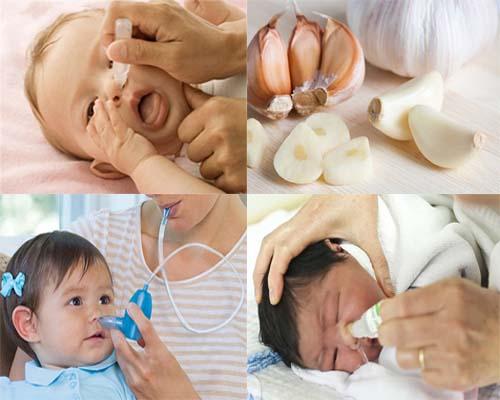 4 sai lằm khi chữa sổ mũi cho trẻ