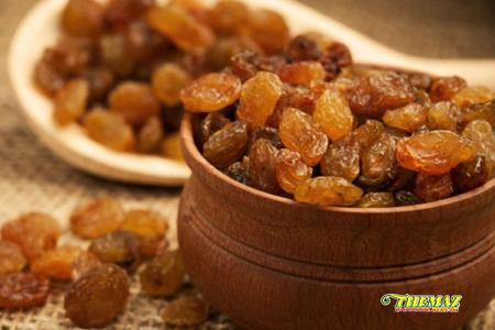 Cách giải độc gan bằng nho khô