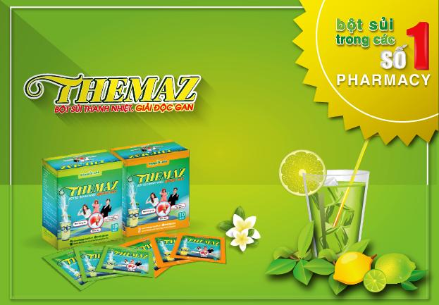 Themaz - Bột sủi số 1 trong các Pharmacy